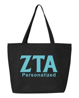 Zeta Tau Alpha Design Your Own Tote Bag