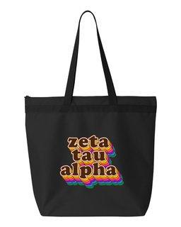 Zeta Tau Alpha Maya Tote Bag