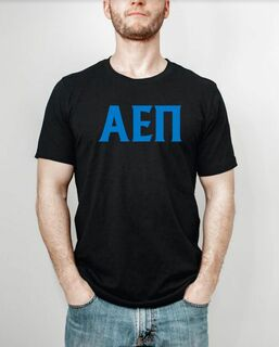Alpha Epsilon Pi letter tee