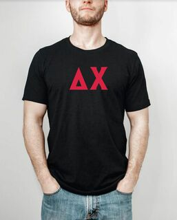 Delta Chi letter tee