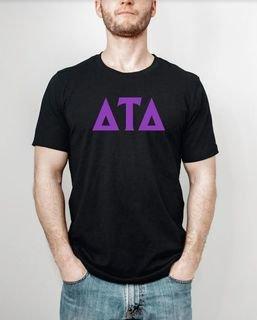 Delta Tau Delta letter tee