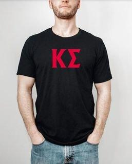 Kappa Sigma letter tee