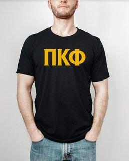 Pi Kappa Phi letter tee