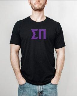 Sigma Pi letter tee