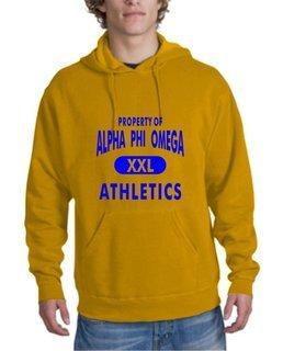 Alpha Phi Omega Athletics Hoodie