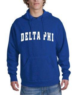 Delta Phi Letterman Hoodie