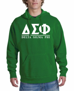 Delta Sigma Phi bar Hoodie
