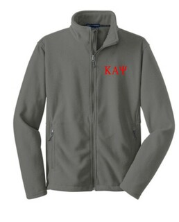 Fraternity & Sorority Full Zip Fleece Pullover