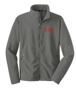 Fraternity & Sorority Full Zip Fleece Pullover