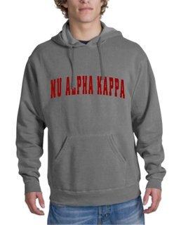 Nu Alpha Kappa Letterman Hoodie