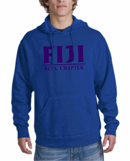 Phi Gamma Delta - FIJI Fraternity bar Hoodie