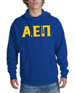 Alpha Epsilon Pi letter hoodie2