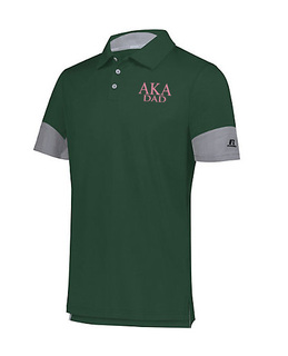 Alpha Kappa Alpha Dad Hybrid Polo