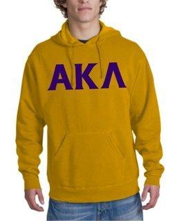 Alpha Kappa Lambda letter Hoodie