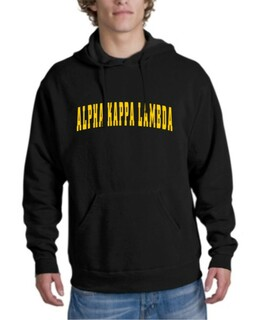 Alpha Kappa Lambda letterman Hoodie