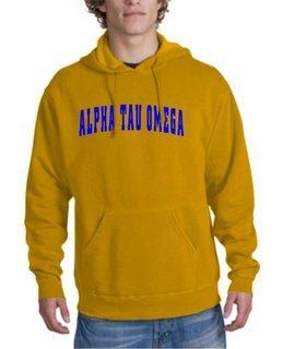Alpha Phi Omega Letterman Hoodie