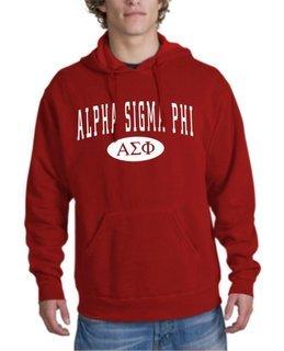 Alpha Sigma Phi arch Hoodie