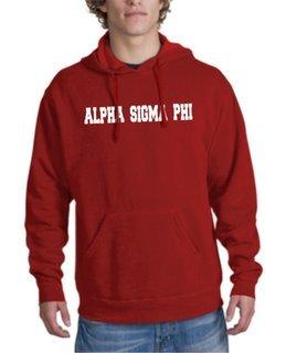 Alpha Sigma Phi college Hoodie