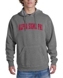 Alpha Sigma Phi letterman Hoodie