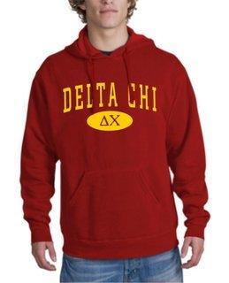 Delta Chi arch Hoodie