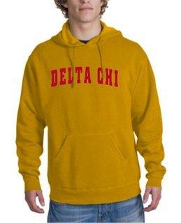 Delta Chi letterman Hoodie