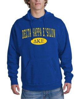 Delta Kappa Epsilon arch Hoodie
