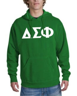 Delta Sigma Phi letter Hoodie