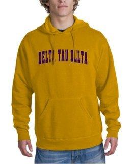Delta Tau Delta letterman Hoodie