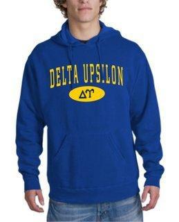 Delta Upsilon arch Hoodie