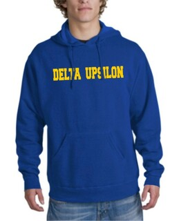 Delta Upsilon college Hoodie