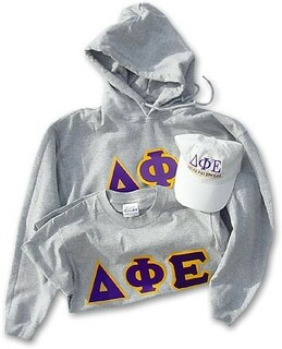 DISCOUNT- Fraternity & Sorority Hoodie, Hat & Tee Set