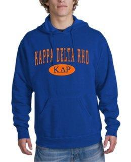 Kappa Delta Rho arch Hoodie