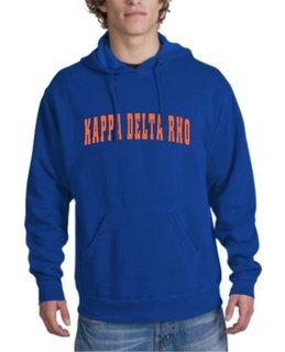 Kappa Delta Rho letterman Hoodie