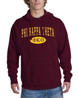 Phi Kappa Theta arch Hoodie