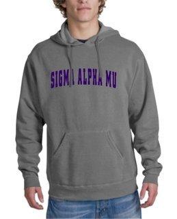 Sigma Alpha Mu letterman Hoodie