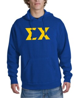 Sigma Chi letter Hoodie
