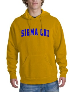 Sigma Chi letterman Hoodie
