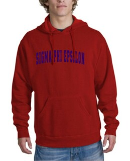 Sigma Phi Epsilon letterman Hoodie