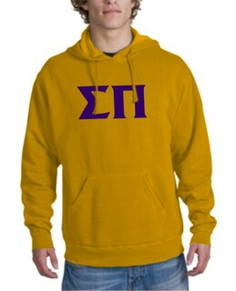 Sigma Pi letter Hoodie