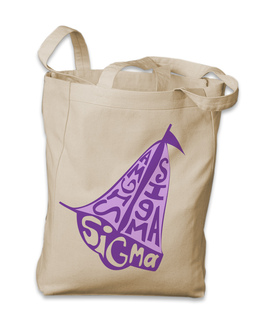 Sorority Mascot Tote Bag