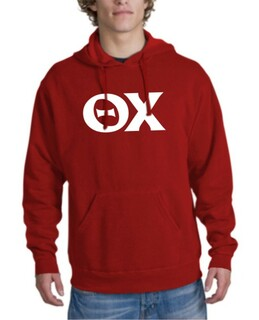 Theta Chi letter Hoodie