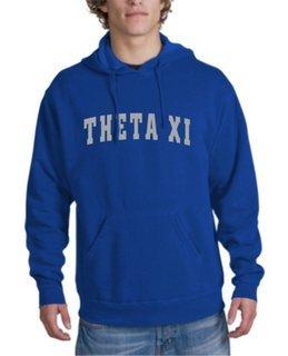 Theta Xi letterman Hoodie