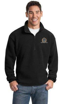 DISCOUNT-Delta Kappa Alpha Emblem Patch 1/4 Zip Pullover