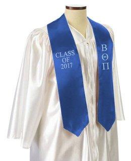 Beta Theta Pi Embroidered Graduation Sash Stole