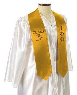 Iota Phi Theta Embroidered Graduation Sash Stole