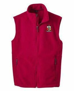 Kappa Alpha Psi Fleece Crest - Shield Vest