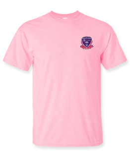 DISCOUNT-Sigma Lambda Gamma Crest - Shield Patch T-Shirt