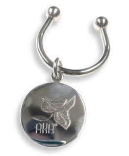 Alpha Kappa Alpha Silver Keyring - HALF OFF!