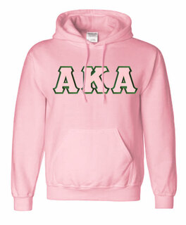 $39.99 AKA Lettered Hooded Sweatshirt - MADE FAST!