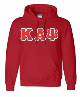 DISCOUNT Kappa Alpha Psi Lettered Hooded Sweatshirt